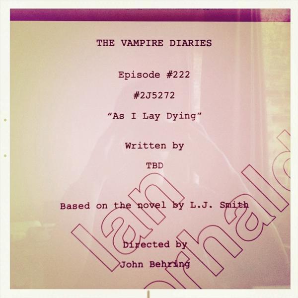 Le titre du season finale révélé par Ian Somerhalder !