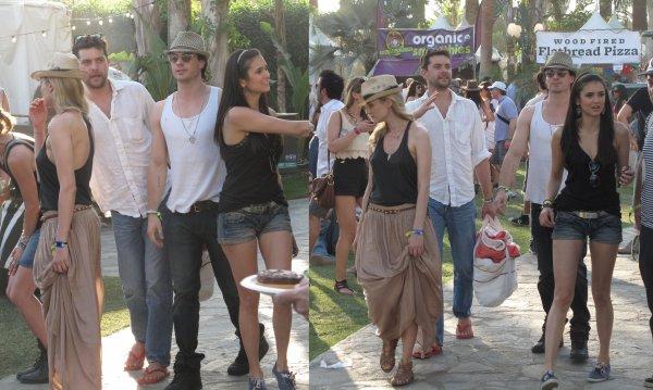 Ian & Nina au Coachella Festival