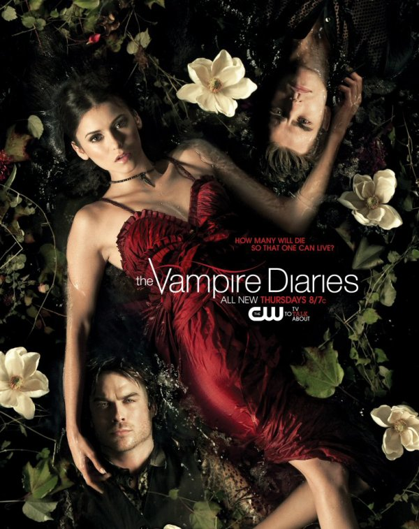 Poster inédit d'Elena, Stefan & Damon !