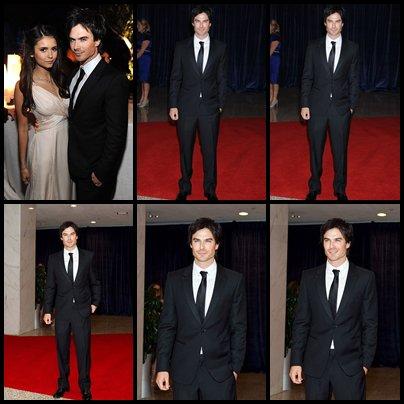 Ian et Nina à la Maison Blanche