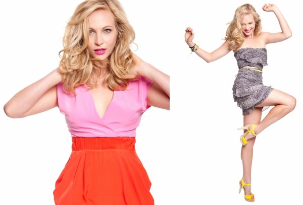 Candice Accola dans Style File Daily