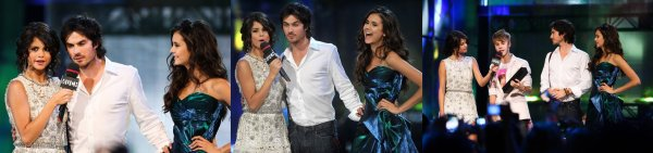 Les acteurs – Nina, Ian & Katerina aux MMVA !
