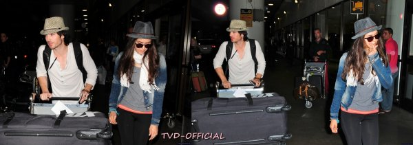Ian et Nina à LAX
