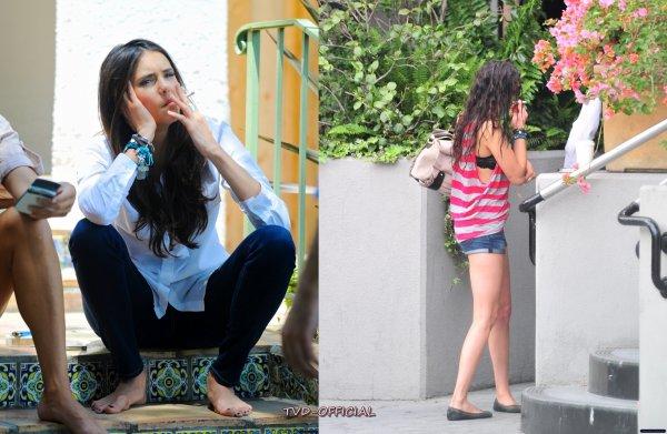 Nina sur un photoshoot
