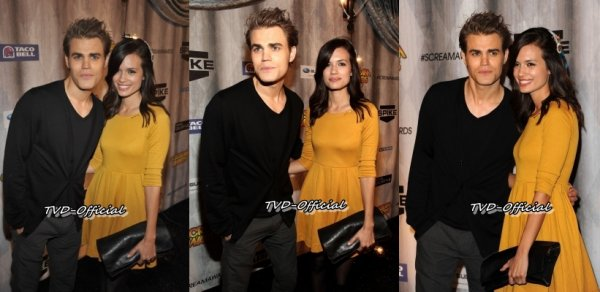 Paul Wesley aux Scream Awards 2011 !