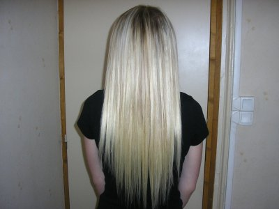 Favorit extensions 50 cm blond platine ( 100 mèches) - Blog de extensions62800 JA06