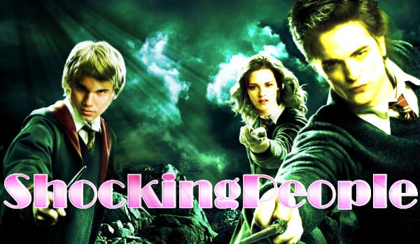 Et si les acteurs de Twilight jouaient les rôles principaux de Harry Potter? Je sais, je sais, c'est ridicule mais je me suis bien amusée à le faire hahaha. Qu'en pensez-vous?