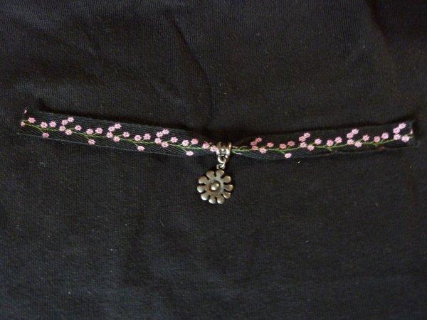 Bracelet à Breloque fleur