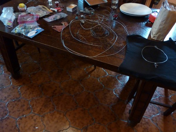 """Mon """"atelier"""" chez mes grands parents"""
