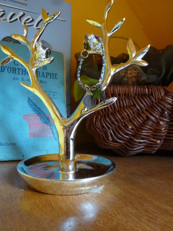 Bracelet Liberty à breloques ..Nature !