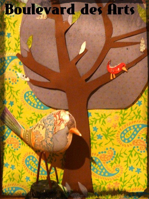 Tree & Birds ...