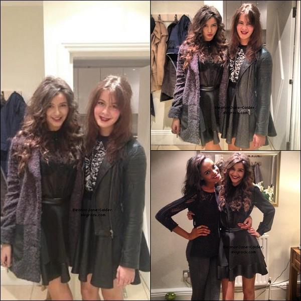 Le 27 Octobre, Eleanor fêtait Halloween avec des Amis.