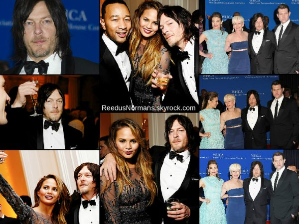 25.04.15 - Norman R. , Lauren Cohan et Alanna Masterson étaient présents au 22th Annual White House Correspondents Garden Brunch, a Washington DC.