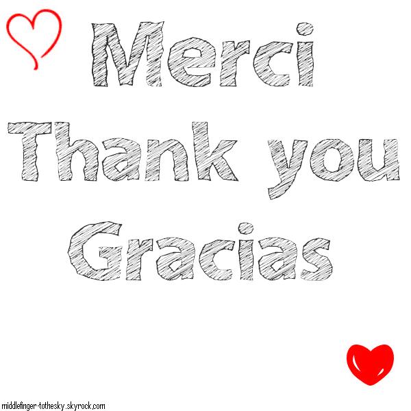 Merci ♥