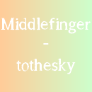 Photo de middlefinger-tothesky