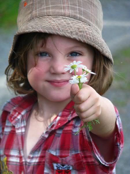 Tu veux une fleur !!!