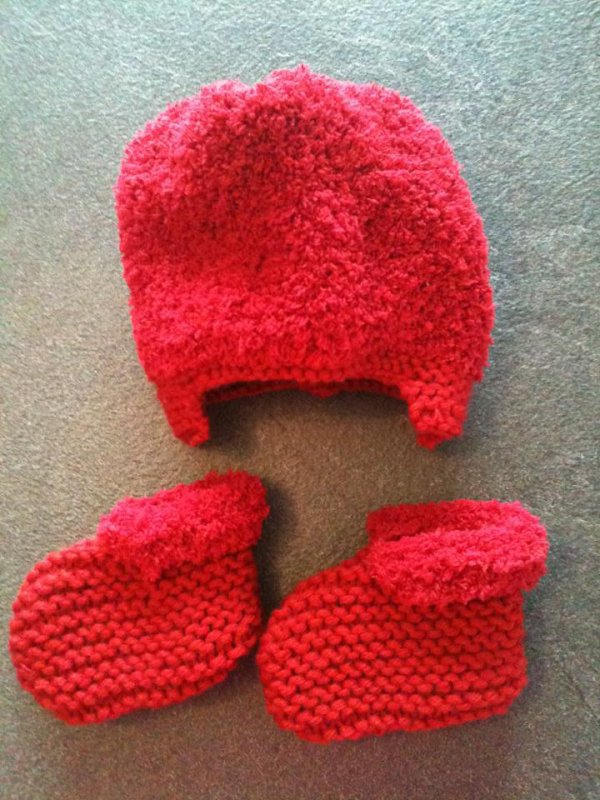 Bonnet + chaussons