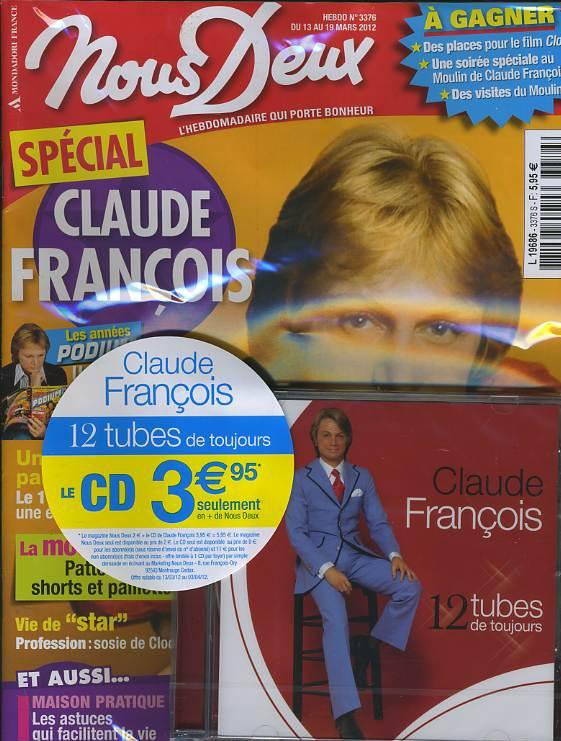 CLAUDE FRANCOIS NOUS DEUX