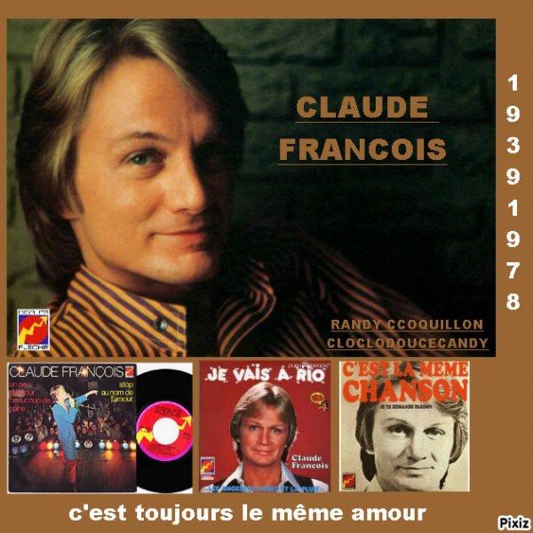 CLAUDE FRANCOIS MONTAGE PAR MOI spécial années 70