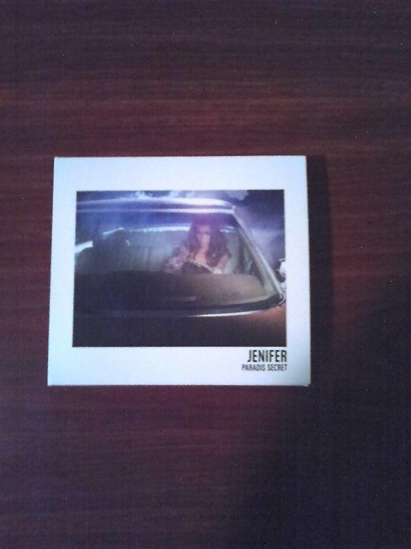 """Jenifer mes nouveaux cd dont son nouvel album """"Paradis Secret"""""""