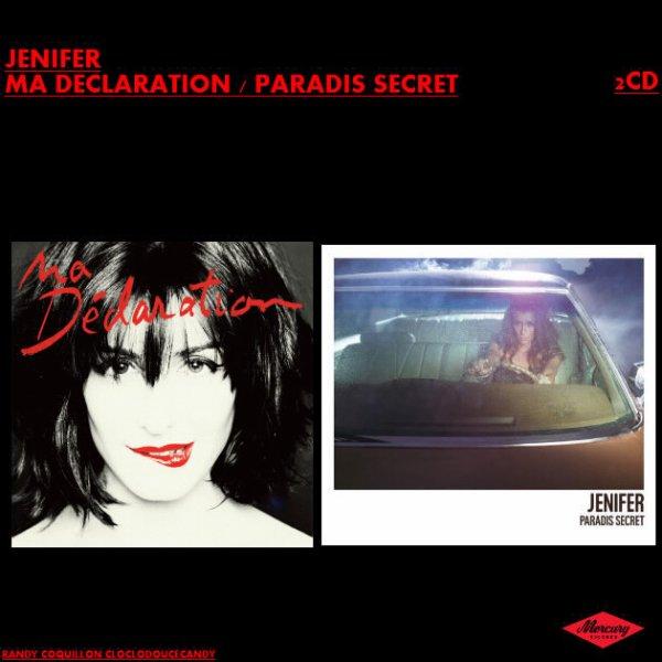 VOICI MON NOUVEAU MONTAGE JENIFER FAÇON COMPIL 2 ALBUMS