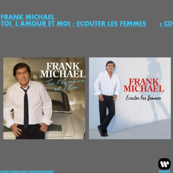 VOICI MON NOUVEAU MONTAGE FRANK MICHAEL FAÇON COMPIL 2 ALBUMS