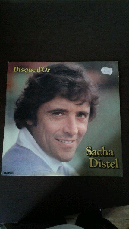 Mon nouveau 33 tours de Sacha Distel