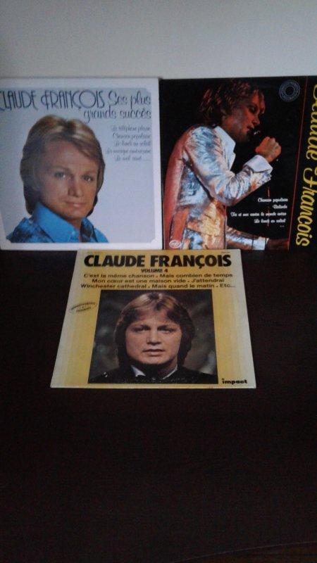 Mes nouveaux 33 tours de Claude François