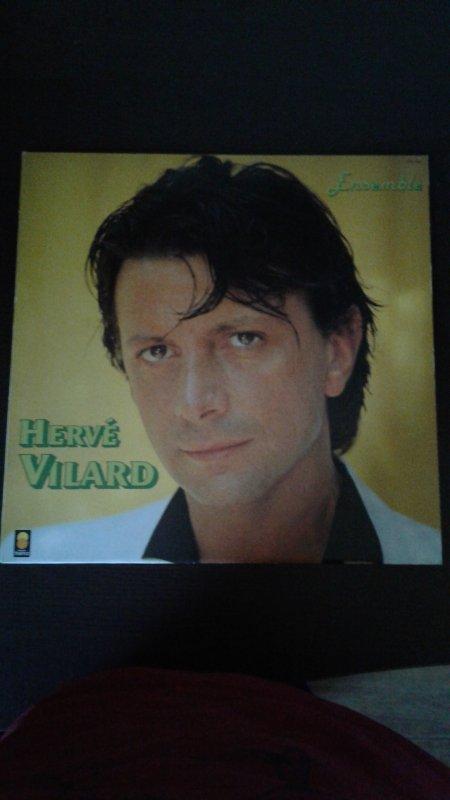 "Hervé Vilard 33 tours l'album ""Ensemble"" 1983"