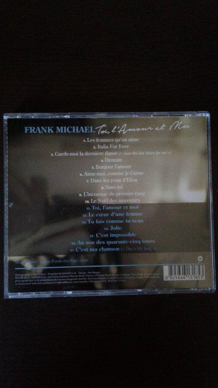 Frank Michael Toi, L'Amour et Moi 2015