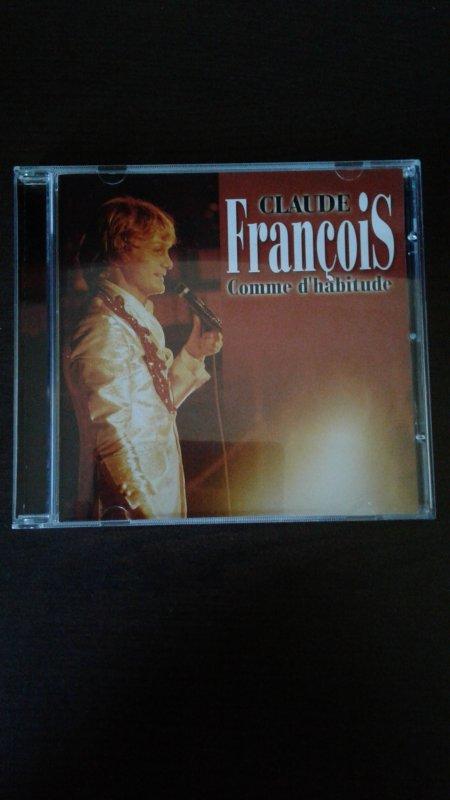 Claude François Comme D'Habitude 2003 CD LIVE