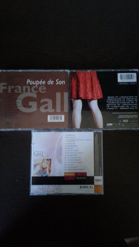 France Gall Poupée De Son 1992, France Gall Volume 2 Sélection Talents 2002, France Gall Débranchée à Bercy 93 1993