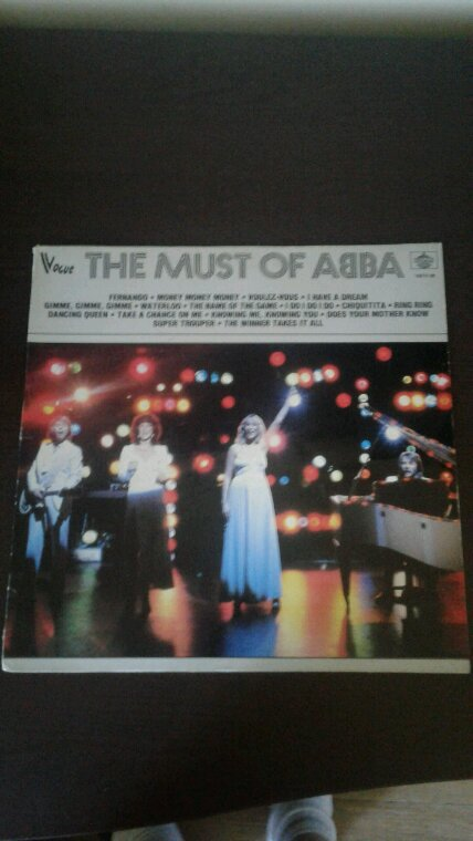 ABBA The Must Of ABBA 33 tours 1982