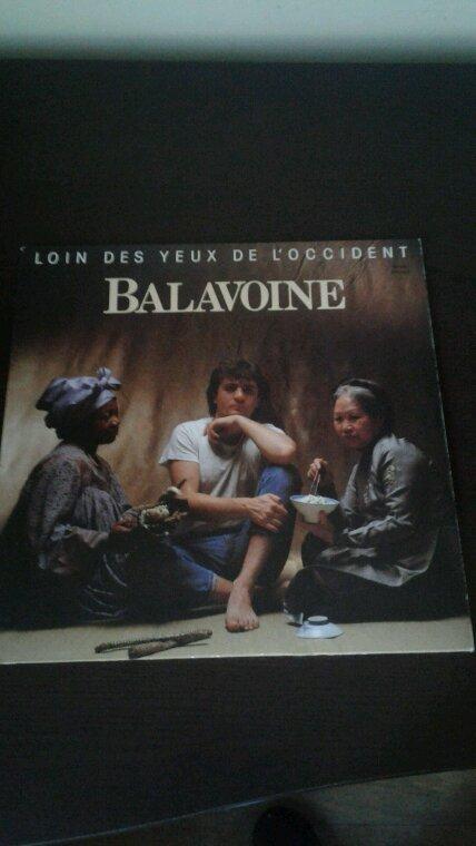 Daniel Balavoine Loin Des Yeux De L'occident 33 tours de 1983 et Sauver L'Amour 33 tours de 1985