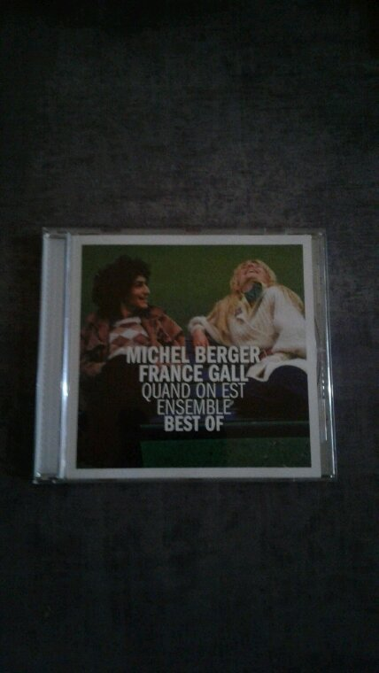 Michel Berger / France Gall Quand On Est Ensemble Best Of cd 2017