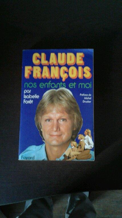 Claude François nos enfants et moi livre de 1979