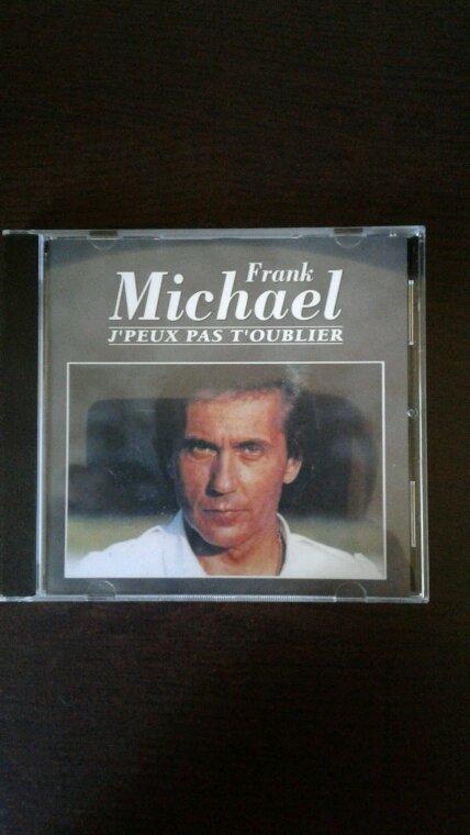 Frank Michael J'Peux Pas T'Oublier cd 1989
