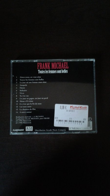 Frank Michael Toutes les femmes sont belles 1996