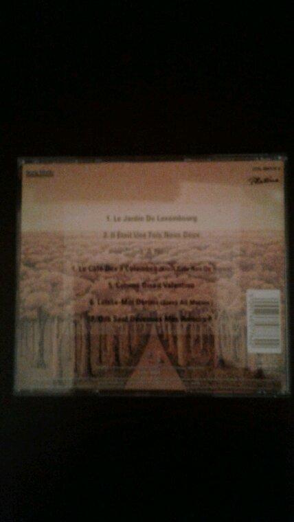 Joe Dassin Le Jardin Du Luxembourg CD 1995