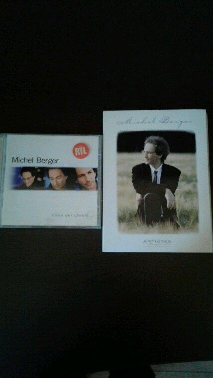 Mes nouveaux cd de Michel Berger