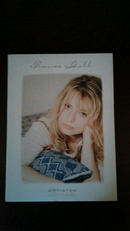 Mon nouveau cd et Magazine de France Gall