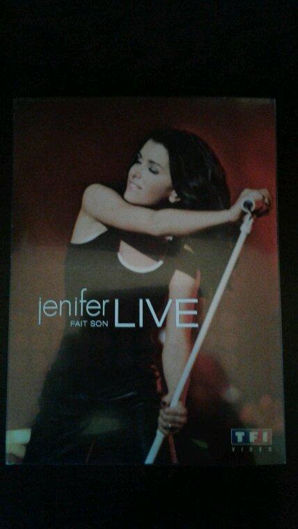 """Mon nouveau Dvd de Jenifer """" Jenifer Fait Son Live """" 2005"""