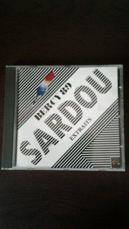 Michel Sardou Bercy 89 cd 1989 mon nouveau cd