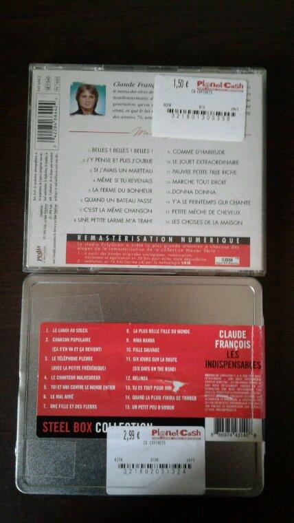 Claude François mes nouveaux achats cd et nouveaux magazines 2018
