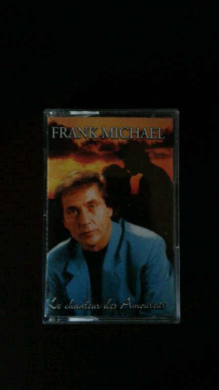 Frank Michael Le chanteur des amoureux album en version K7 1998