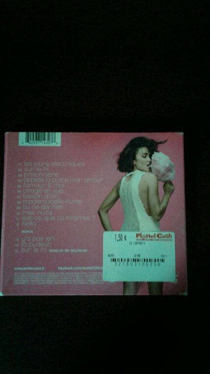 Jenifer L'Amour Et Moi version digipack 2012