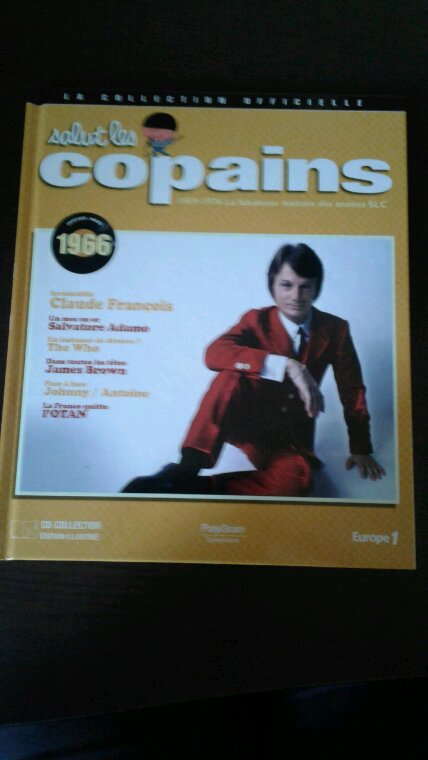 Salut les copains la collection officielle numéro janvier - mars 1966