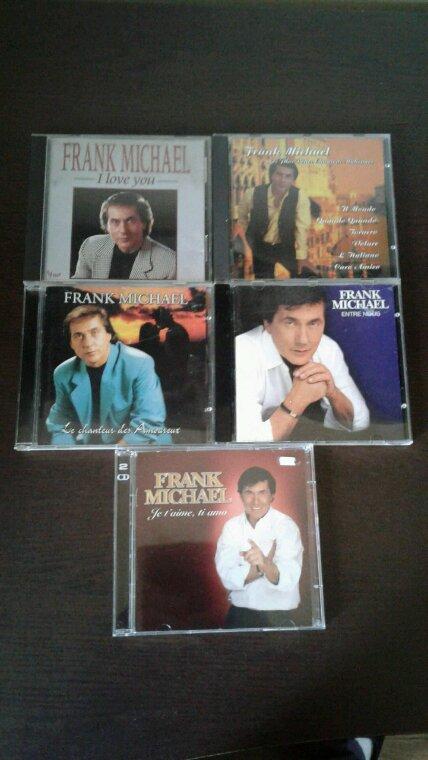 Frank Michael mes nouveaux cd