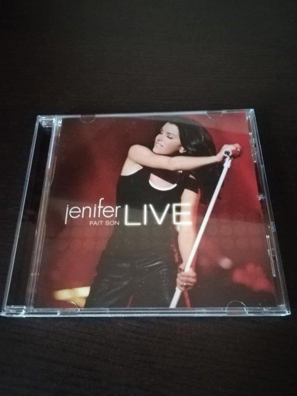 Voici ma collection de CD et DVD Jenifer