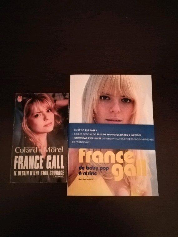 Ma petite collection France Gall CD, DVD, Vinyle 45 et 33 tours, Livres, etc...
